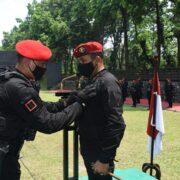 Danjen Kopassus Brigjen TNI Mohamad Hasan Terima Brevet Anti Teror