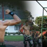 Grup Kopassus Gelar Lomba Calisthenic dan Bodybuilding