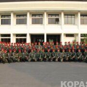 Pemberangkatan Latma Kopassus Chandrapura XXI/2014 ke Singapura