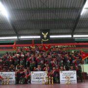 Batalyon 22 Gelar Lomba Manggala Warriors Challange – I